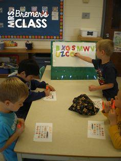 Free Literacy Center Activities for Kindergarten