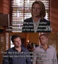 psych (psych,kristen nelson,james roday,dule hill)