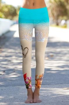 Heart in the Sand Power Pants - Ocean Avenue Boutique