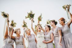 Claire Pettibone and Flowers In Her Hair – A Spectacular Outdoor Spring Wedding Celebration