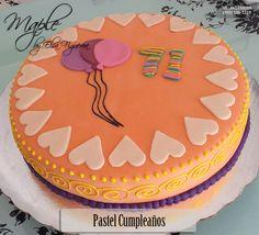 Pastel Cumpleaños Globos