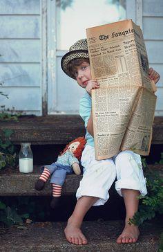 sunday morning paper by bootsieking, via Flickr