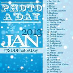 Take a photo each day :)