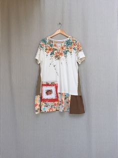 A personal favorite from my Etsy shop https://www.etsy.com/listing/514878500/upcycled-floral-patchwork-tunic-top