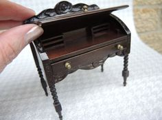 ♡ ♡  Doll House Furniture Miniatures by CandyTheArtist on Etsy