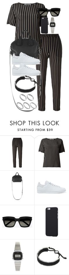 """""""Style #11157"""" by vany-alvarado ❤ liked on Polyvore featuring Won Hundred, Givenchy, adidas Originals, Yves Saint Laurent, Casio, Links of London and ASOS"""