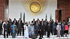 2017 African Union Summit, Addis Ababa.