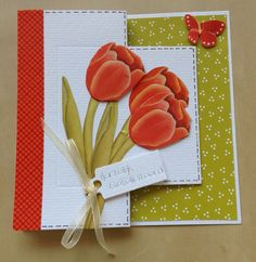 Deze kaart blijft mooi om te maken en om te versturen 3d Cards, Handmade Cards, Mothers, Day, Cards, Craft Cards, Card Making, Homemade Cards, Stamp Sets