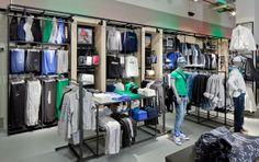 Adidas NEO store set up January 2012 Germany, Hamburg. #vm #visualmerchandising #retail #adidas #neo
