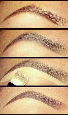 Eyebrows make up!!!