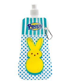 Look what I found on #zulily! PEEPS® Bunny 16-Oz. Collapsible Water Bottle by PEEPS® #zulilyfinds