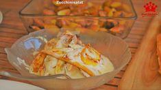 """So machst Du einen einfachen und leckeren Zucchinisalat. Passend zum Grillen, BBQ oder einfach für einen schönen Sommerabend. Das komplette Video findest Du auf meinem YouTube-Kanal """"Rezepte Silkeswelt"""" . #silkeswelt #foodtube #Zucchini"""