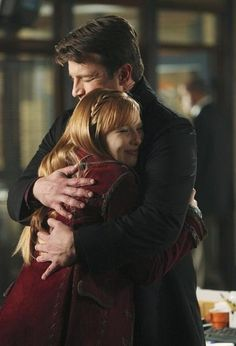 Nathan Fillion and Molly C. Quinn in Castle - Last Call