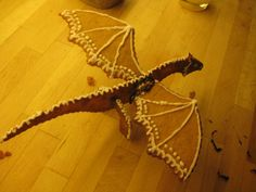 Gingerbread dragon:D by ~Nyffetyff on deviantART