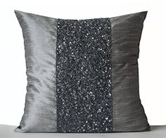Amore Beaute Handcrafted Grey Beaded Pillows -Grey Silk M... https://www.amazon.com/dp/B00N6N9Y32/ref=cm_sw_r_pi_dp_lbOxxbA4WH4S7