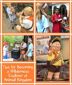 Love the movie Up? Here's everything you need to know so your child can become a Wilderness Explorer at Animal Kingdom!