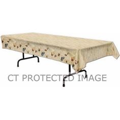 54 Inch X 108 Inch Beach Tablecover