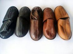 Check out this item in my Etsy shop https://www.etsy.com/listing/235127892/men-slippers-brown-leather-custome-men