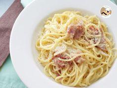 Receita Prato Principal : Carbonara à italiana de PetitChef_PT