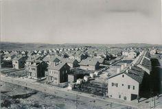 Levent 1950 li yıllar, Metrocity yanındaki su deposu üzerinden.. eski istanbul fotografları