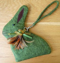 Wonderful Rabbit pouch!