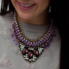 "✨ t+j Designs ""Luxe Purple Pendant Necklace"" PLEASE DO NOT PURCHASE THIS LISTING.  If you are interested, tag me in a comment on this listing, and I will create a personal listing just for you.   This necklace is exquisite...  Base metals and glass crystals.    t+j Designs are found in speciality boutiques worldwide. Now they are available to you on Poshmark!  This necklace retails for $128. I'm selling on Posh for just $39.   Photo credit (photo #2 and 3) t+j Designs T&J Designs Jewelry…"