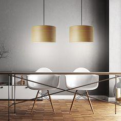 Dual Pendant Lamp - Beech - alt_image_three