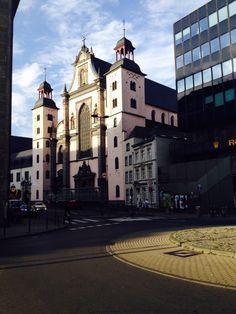 #Köln Barockkirche St. Mariä Himmelfahrt, erbaut ab 1618