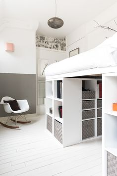 Kids closet layout bunk bed 41 ideas for 2019 Room Design Bedroom, Girl Bedroom Designs, Room Ideas Bedroom, Small Room Bedroom, Home Bedroom, Bedroom Decor, Bedrooms, Dream Rooms, Dream Bedroom