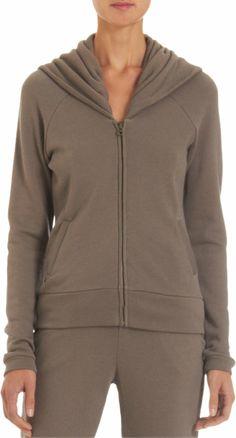 SKIN Large Hooded Zip-Up Sweatshirt Barneys $165
