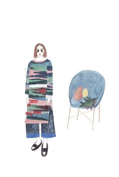 Russia-based illustrator Sainte Maria has a great eye for fashion and an even more amazing talent for putting her style down on paper. You can find her beautiful illustrations posted on the blog today! http://www.artisticmoods.com/sainte-maria-2/