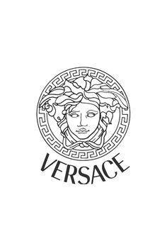 Versace. My favorite couture. Medusa is represented in modern day with this logo.