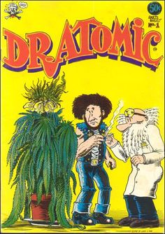 Underground Comic: Hemp Humour - The Forty Year Old Hippie #2 Last Gap 1979