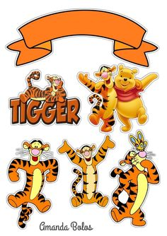 How To Make Cake, Tigger, Cake Toppers, Amanda, Disney Characters, Fictional Characters, Birthdays, Toddler Girls, Craft