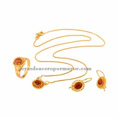 jewelry sets with necklace,earring and rings for women -BRNEG72001