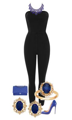 """Untitled #116"" by mrsstunning on Polyvore featuring Topshop, Christian Louboutin and Chanel"