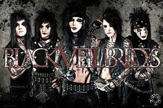 Black Veil Brides Leather - Official Poster