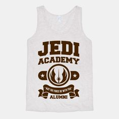 Long ago and in a place far far away, the Jedi Academy existed for the preparation and teaching of the jedi arts. Pay tribute to your alma mater by wearing your pride.