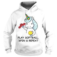 Unicorn PLAY SOFTBALL, SPIN AND REPEAT, Order HERE ==> https://www.sunfrog.com/Funny/131363871-878732118.html?58114, Please tag & share with your friends who would love it, long haired #dachshund, #dachshund gifts phone cases, dachshund gifts weenie dogs #decor #products #quotes