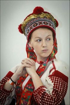Ukrainian Married Women 39 S Headwear Namitka Ukrainian