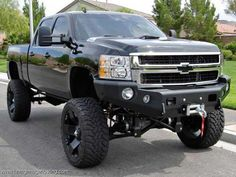 Lifted Chevrolet Silverado Trucks