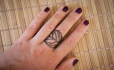 Leaf ring  Adjustable ring made of metal wrapped by SilviaWithLove, €5.00