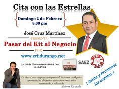 CITA CON LAS ESTRELLAS CONSTRUYENDO MAESTRIA EN EL LIDERAZGO, DOMINGOS 8 P. M. INFORMES EN LA PUBLICACION