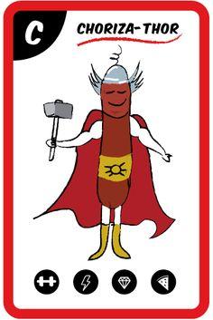 Fuertote y con energía. Dispuesto a imponer sus poderes con su llamativa indumentaria roja. Su potente sabor os hará sentir como un auténtico superhéroe.