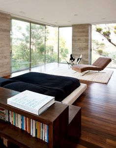 ♂ M i n i m a l i s t design bedroom Modern Three Level Home in Guatemala Welcoming Nature Indoors like the great lighting #minimalsit