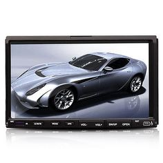 "Double 2DIN HD Universal 7"" Touch Screen Car DVD Player Stereo Radio"