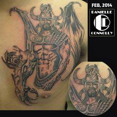 Boris Vallejo illustrations Tattoo