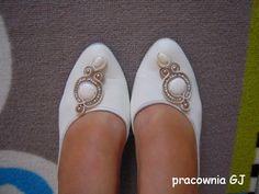 Buty ozdobione sutaszem / Soutache shoes