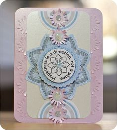 Pink Shimmer and Shine Photo Album Accents #Scrapbooking Card from Creative Memories    www.creativememor...