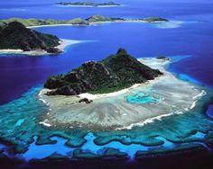 Costellazioni di forsete tra le onde dell'Oceano #Pacifico: il #paradiso delle isole #Fiji